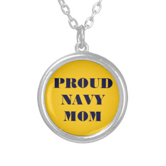 Necklace Proud Navy Mom