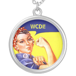 Necklace Rosie the Riveter Texting WE CAN DO IT!