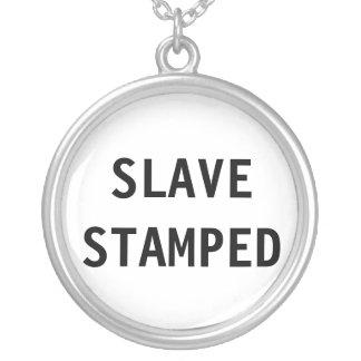 Necklace Slave Stamped