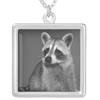 necklace_squarebull silver plated necklace