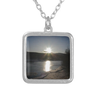 necklace with photo of Yukon River