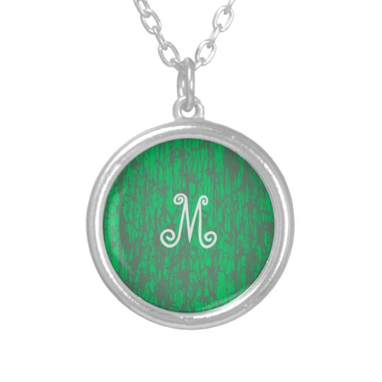 Necklace with Silver M