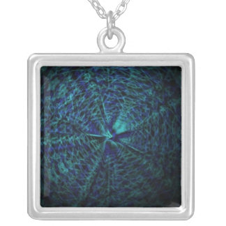 Necklace with supporter of impulses multicolored