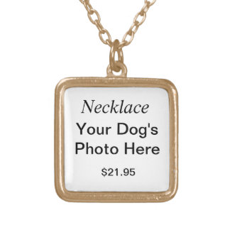 Necklace Your Dog's Photo Here