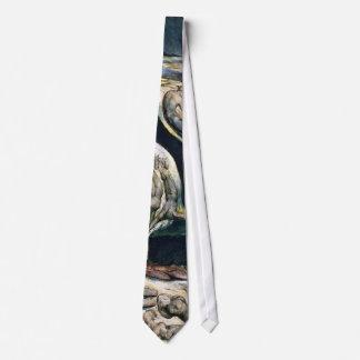 """Necktie: """"Whirlwind of Lovers"""" by William Blake Tie"""