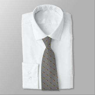 Necktie with launderer watercolor cascadeña