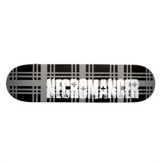 Necromancer (Grey) Skateboard Deck