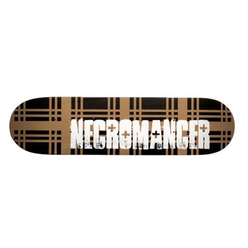Necromancer (Tan) Skateboard Deck