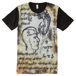 Necronomicon Ancient Magick All-Over Print T-Shirt