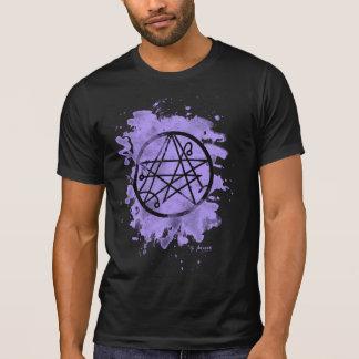 Necronomicon bleached (violet) shirts