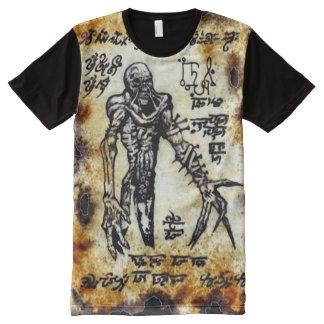 Necronomicon Demon All-Over Print T-Shirt