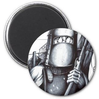 Ned Kelly 6 Cm Round Magnet