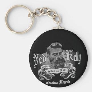 Ned Kelly - An Australian Legend Key Ring