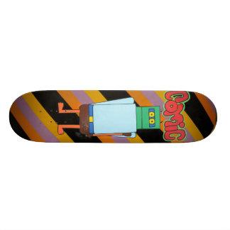 NED KELLY COMIC SKATE BOARD DECK
