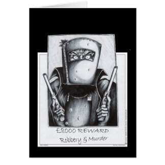 Ned Kelly: Wanted Card