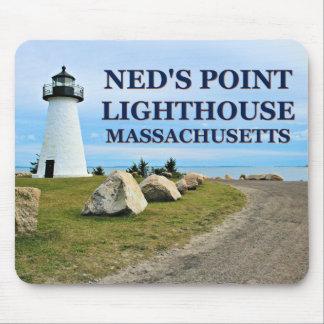 Ned's Point Lighthouse, Massachusetts Mousepad