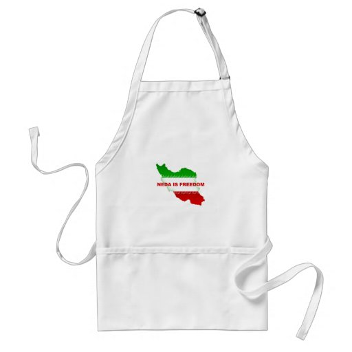 Neda is Freedom Aprons