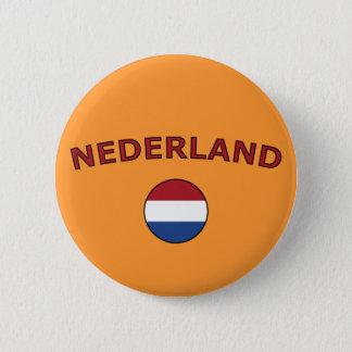 Nederland 6 Cm Round Badge