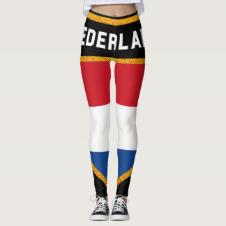 Nederland Flag Leggings