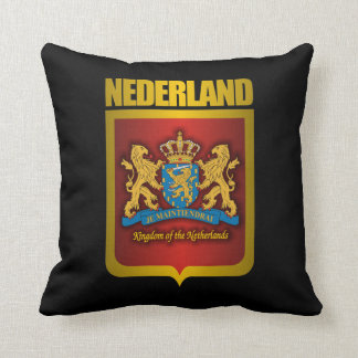 """Nederland Gold"" Pillow"
