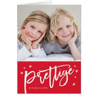 Nederlands kerstkaart card