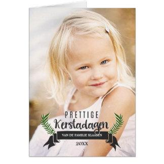 Nederlandse Kerstkaart Card