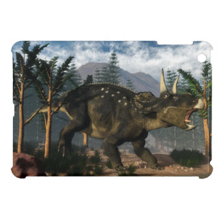 Nedoceratops roaring while running - 3D render iPad Mini Covers