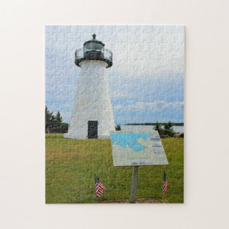 Ned's Point Lighthouse, Massachusetts Puzzle