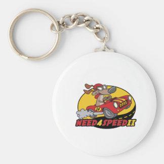 Need 4 Speed 2 Tournament Goodies Basic Round Button Key Ring