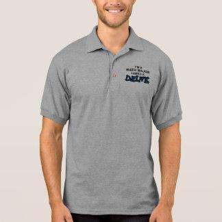 Need a Drink - Math Major Polo T-shirts