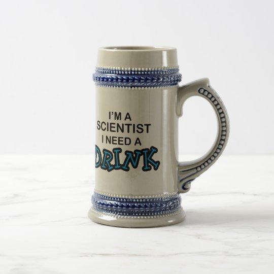 Need a Drink - Scientist Beer Stein
