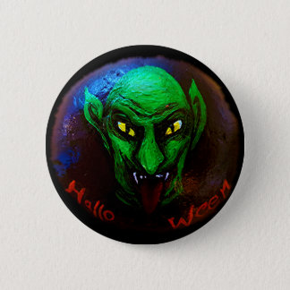 need A monster on halloween? 6 Cm Round Badge