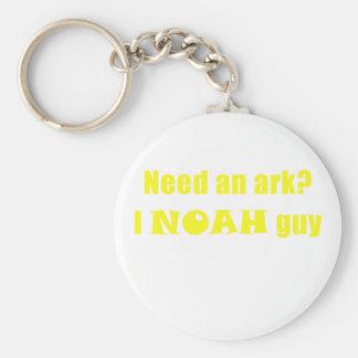 Need an Ark I Noah Guy Key Ring
