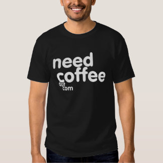 Need Coffee Dot Com 2010 Logo T-shirt