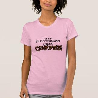 Need Coffee - Electrician Shirts