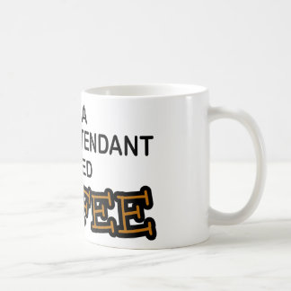 Need Coffee - Flight Attendant Basic White Mug