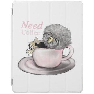 Need Coffee iPad Cover