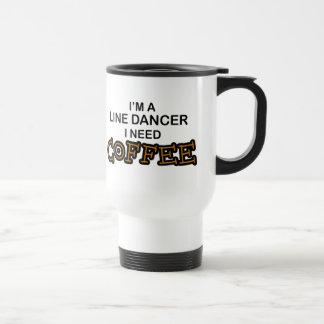 Need Coffee - Line Dancer Travel Mug