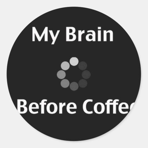Need Coffee Stickers