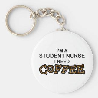Need Coffee - Student Nurse Key Ring