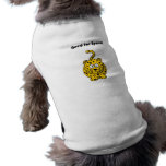 Need for Speed Cheetah Cartoon Dog T-shirt