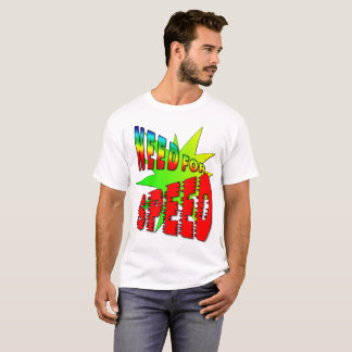 Need for Speed T Shirt - Vivid Colors