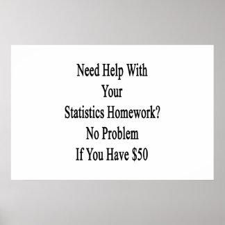 No homework statistics
