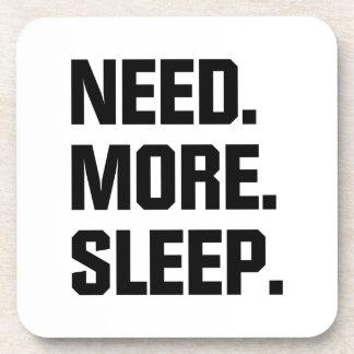Need More Sleep Beverage Coasters