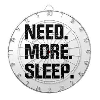 Need More Sleep Dart Board