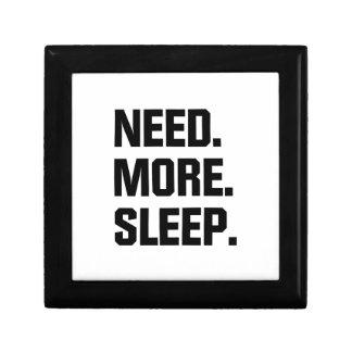 Need More Sleep Gift Box