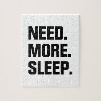 Need More Sleep Puzzle
