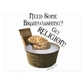 Need Some Brainwashing? Postcard