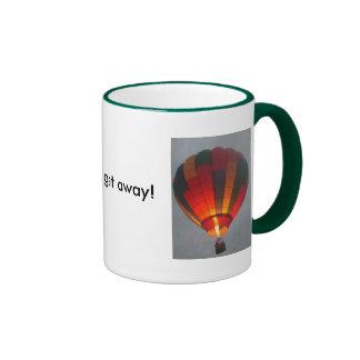 Need to get away! coffee mugs