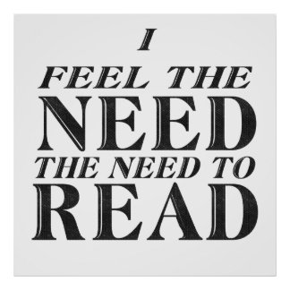 Need to Read Poster